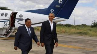 Obama na Mahiga