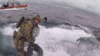 غارة خفر سواحل أمريكيين على غواصة يشتبه بحملها مخدرات