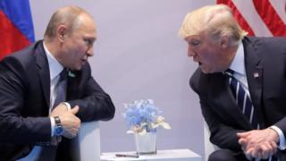 Putin na Trump