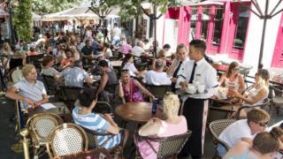 스페인의 레스토랑