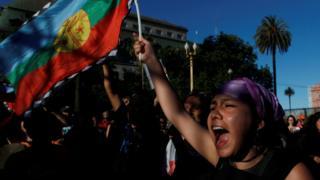 El incidente provocó protestas en Bariloche de la comunidad mapuche y otras organizaciones sociales.