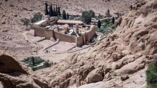 синайЁ эгипетЁ монастир