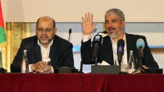 خالد مشعل و موسی ابومزروق