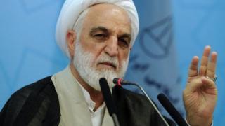 غلامحسین محسنی اژهای معاون اول قوه قضائیه ایران
