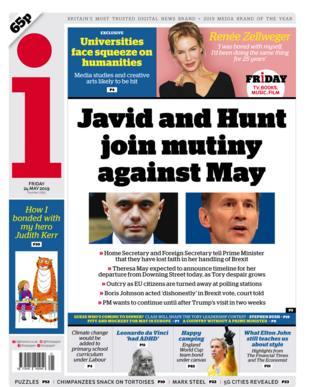 i front page - 24/05/19