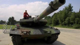 Leopard savaş tankı