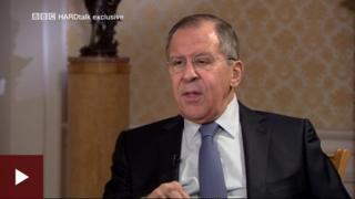Ngoại trưởng Nga nói rằng bằng chứng duy nhất của một cuộc tấn công hóa học đến từ truyền thông.