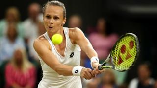 La Slovaque Magdalena Rybarikova est la révélation de Wimbledon