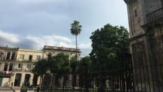 sports A view of Plaza de Cristo