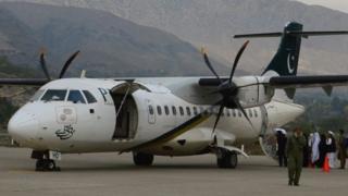 Avión de PIA