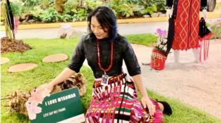 မြန်မာပြခန်း ဖန်တီးရှင် မလီဗီ