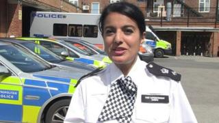 Temporary Chief Superintendent Parm Sandhu