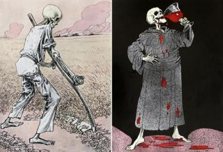 WW1 illustrations by Louis Raemaekers
