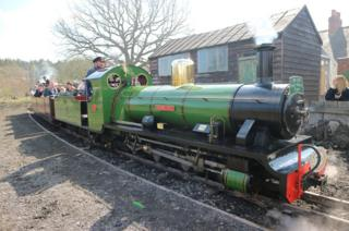 River Irt, a 15-inch gauge locomotive