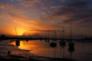 Sunrise on the River Crouch