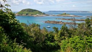 View of Jethou from Herm