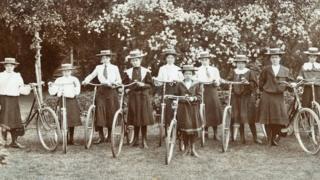 Велосипед спортунун ышкыбоздору, ХХ кылымдын башы