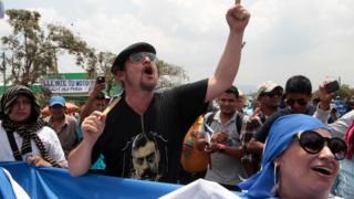 Митинг против Никарагуанского канала