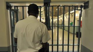 Prison officer in Wormwood Scrubs
