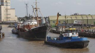 Arctic Corsair moved from home of 20 years