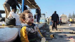 Criança na Síria