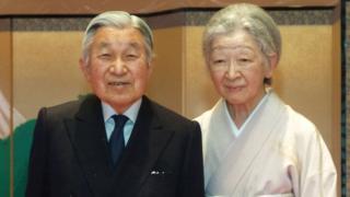 日本天皇夫妇