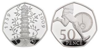 50p commemorative coins