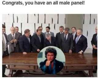 all male panel