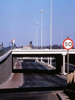 M8 north from Anderston (1973)