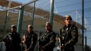 охрана олимпийских объектов в Рио