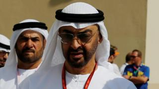 Crown Prince of Abu Dhabi Sheikh Mohammed bin Zayed al-Nahyan, November 2017