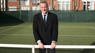 Chris Kermode at the ATP headquarters at Queen's Club, London