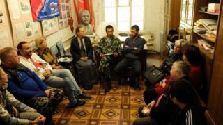 Встреча с жителями в Колпашево