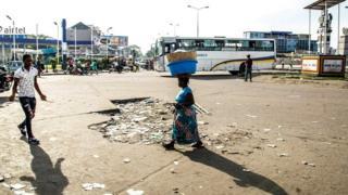 Amabarabara ya Kinshasa akunze kubamwo abantu benshi