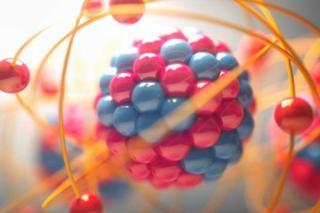 แบบจำลองอะตอมสีลูกกวาด
