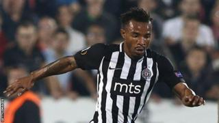 Seydouba Soumah du Partizan Belgrade