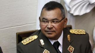 Nestor Reverol, General Commander of the Venezuelan National Guard, attends the annual state of the nation address by President Nicolas Maduro at the National Assembly in Caracas January 15, 2016