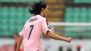 Edinson Cavani for Palermo