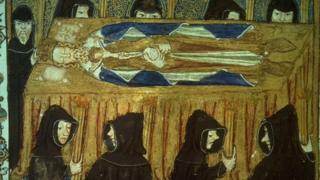 Прощание с королем Филиппом IV французским