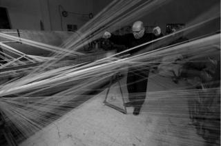 Judah Herbawi in his factory