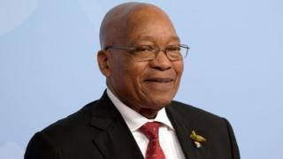 L'ex-président sud-africain Jacob Zuma