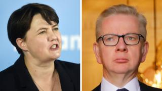 Ruth Davidson and Michael Gove