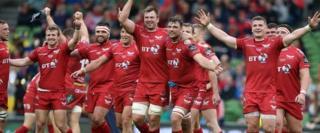 Scarlets celebration