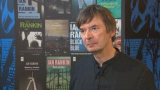 Ian Rankin says he never intended to be a crime writer