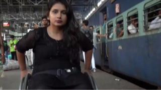 印度轮椅小姐维拉里·莫迪