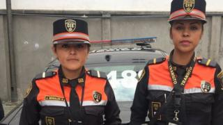 Judith and Rosa on patrol