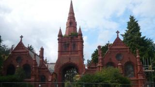 Brandwood End Cemetery Chapels, Birmingham