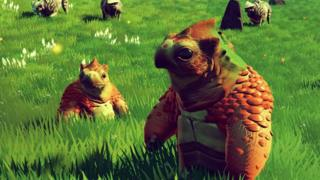 Creatures in No Man's Sky