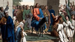 illustration-of-jesus-on-a-donkey.