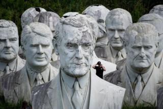 مجسمه وودور ویلسون